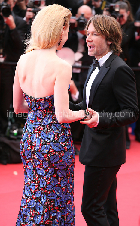 Nicole Kidman and Keith Urban at the The Coen brother's new film 'Inside Llewyn Davis' red carpet gala screening at the Cannes Film Festival Sunday 19th May 2013