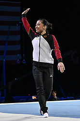 March 2, 2019 - Greensboro, North Carolina, US - KIM BUI from Germany is introduced to the crowd at the Greensboro Coliseum in Greensboro, North Carolina. (Credit Image: © Amy Sanderson/ZUMA Wire)