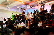 10 October-New York, NY- Audience attends the BRIC Stoop Series for 'Black Masculinity and the Style of Resistance' held at BRIC on October 10, 2017 in Brooklyn, New York City.  (Photo by Terrence Jennings/terrencejennings.com)