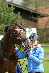 Homestory Becks, Jil Marielle (GER), Damon Hill NRW<br /> Senden - Portrait Jil Marielle Becks 2015<br /> © www.sportfots-lafrentz.de/Stefan Lafrentz