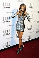 Jourdan Dunn, ELLE Style Awards, One Embankment, London UK, 18 February 2014, Photo by Richard Goldschmidt