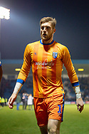 Gillingham FC goalkeeper Tomas Holy (1) after  the The FA Cup 3rd round match between Gillingham and Cardiff City at the MEMS Priestfield Stadium, Gillingham, England on 5 January 2019. Photo by Martin Cole.