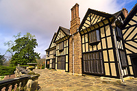 Agecroft Hall tudor estate and gardens, Richmond, Virginia USA
