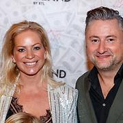 NLD/Amsterdam/20181104 - Premiere documentaire Famke Louise, Dennis Weening en partner Stella Maassen