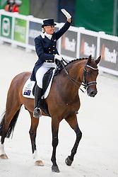 Mary Hanna, (AUS), Sancette - Grand Prix Special Dressage - Alltech FEI World Equestrian Games™ 2014 - Normandy, France.<br /> © Hippo Foto Team - Leanjo de Koster<br /> 25/06/14