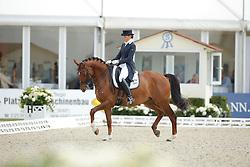 Afanasieva Polina, (RUS), Winston <br /> Grand Prix CDI4*<br /> CDIO Hagen 2015<br /> © Hippo Foto - Stefan Lafrentz<br /> 10/07/15
