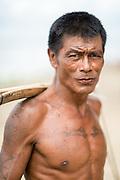 Myanmar, (Burma), portrait or man