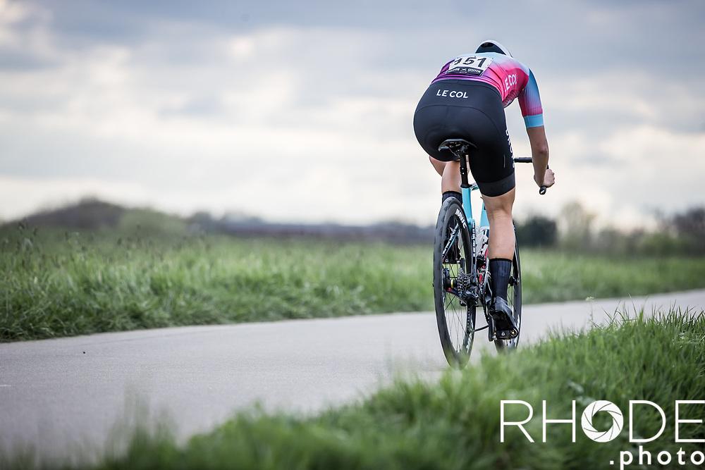 Elizabeth Bennett (GBR/Drops Le Col)<br /> <br /> Ceratizit Festival Elsy Jacobs (LUX) 2021<br /> UCI Women Elite 2.1<br /> Day 1 - prologue : Individual Time Trial (ITT) – Cessange (LUX) 2.2km <br /> <br /> ©RhodePhoto