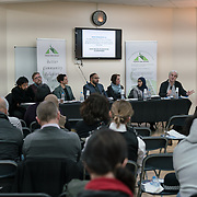 """London, England, UK. 29th November 2017. Finsbury Park Mosque hosts a debate """"Confronting anti-muslim hate crimes in Britain"""" challenges and opportunities."""