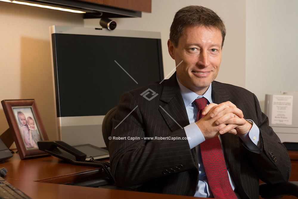 Kevin Watters, CEO of Mortgage Banking at Chase. ..Photo by Robert Caplin..