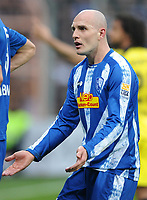 Fotball<br /> Tyskland<br /> 13.03.2010<br /> Foto: Witters/Digitalsport<br /> NORWAY ONLY<br /> <br /> Milos Maric Bochum<br /> Bundesliga VfL Bochum - Borussia Dortmund 1:4