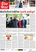May 04, 2021 - AFRICA: Front-page: Today's Newspapers In Africa
