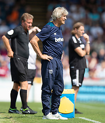 West Ham United manager Manuel Pellegrini during the pre-season match at Adams Park, Wycombe.