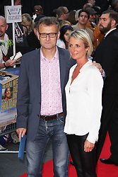 © Licensed to London News Pictures. 22/09/2014, UK. Hugh Dennis & Kate Abbott-Anderson, What We Did On Our Holiday - World Premiere, Odeon West End, London UK, 22 September 2014. Photo credit : Brett D. Cove/Piqtured/LNP