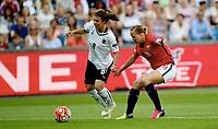 Fotball , 2. juni 2016 Euro-qual. kvinner<br /> Norge - Østerrike<br />  European Womens qual.<br /> Norway - Austria<br /> Nadine Zadrazil  Østerrike<br /> Kristine Minde , Norge