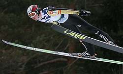 Anze Damjan (SLO) at Qualification's 1st day of 32nd World Cup Competition of FIS World Cup Ski Jumping Final in Planica, Slovenia, on March 19, 2009. (Photo by Vid Ponikvar / Sportida)