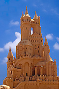 Castle, Sand sculpture festival on the Haifa beach, July 2006