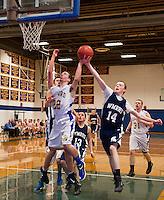 Gilford versus White Mountain basketball.  Karen Bobotas for the Laconia Daily Sun
