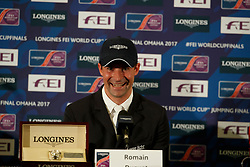 Duguet Romain, SUI<br /> Longines FEI World Cup Jumping Final IV, Omaha 2017 <br /> © Hippo Foto - Dirk Caremans<br /> 03/04/2017
