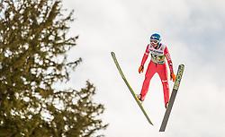 03.01.2014, Bergisel Schanze, Innsbruck, AUT, FIS Ski Sprung Weltcup, 62. Vierschanzentournee, Qualifikation, im Bild Krzysztof Biegun (POL) // Krzysztof Biegun (POL) during qualification Jump of 62nd Four Hills Tournament of FIS Ski Jumping World Cup at the Bergisel Schanze, <br /> Innsbruck, Austria on 2014/01/03. EXPA Pictures © 2014, PhotoCredit: EXPA/ JFK