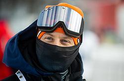 Rene Mlekuz during 2nd Run of Ladies' Giant Slalom at 57th Golden Fox event at Audi FIS Ski World Cup 2020/21, on January 17, 2021 in Podkoren, Kranjska Gora, Slovenia. Photo by Vid Ponikvar / Sportida