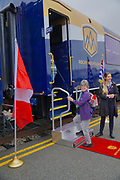 Rocky Mountaineer train boarding, Vancouver, British Columbia, Canada