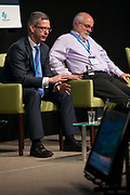Date: 29/06/2017 Repro free:    Caption: Greg Moore, Solution Architect, Dell EMC with Helmut Simonis, Senior research fellow Insight SFI Research Facility photo: xposure