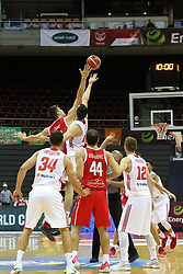 September 17, 2018 - Gdansk, Poland - Gdansk, Poland on 17 September 2018  Poland faces Croatia during the Basketball World Cup China 2019 Qualifiers game in the ERGO Arena sports hall in Gdansk  (Credit Image: © Michal Fludra/NurPhoto/ZUMA Press)