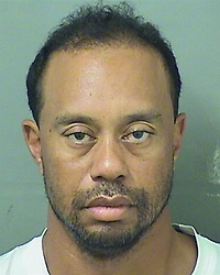 May 29, 2017 - Palm Beach, Florida, U.S. - This image provided by the Palm Beach County Sheriff's Office shows TIGER WOODS following his arrest. Tiger Woods was arrested in the early hours of Monday morning on charges of driving under the influence. The former world No1 golfer was taken into custody near his home on Jupiter Island, Florida. According to Palm Beach County police, he was arrested at 3am, booked into jail around 7am and released at 10.50am. (Credit Image: ? Palm Beach County Sheriff via ZUMA Wire)