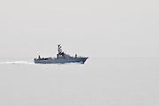 Israel, Eilat Israeli navy Dabur class patrol boat