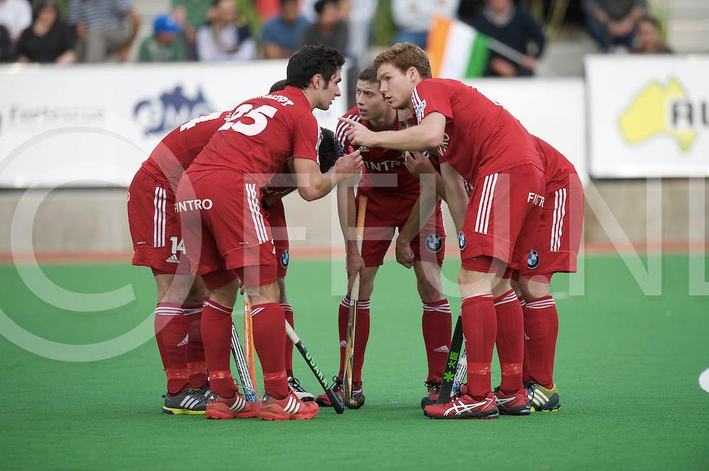 MELBOURNE - Champions Trophy men 2012<br /> India v Belgium 1-0<br /> foto: Penalty corner kring.<br /> FFU PRESS AGENCY COPYRIGHT FRANK UIJLENBROEK