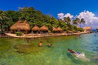 Xcaret Park (Eco-archaeological Theme park), Riviera Maya, Quintana Roo, Mexico