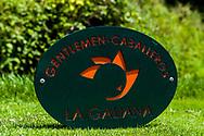 26-07-2016 Foto's persreis Golfers Magazine met Pin High naar Alicante en Valencia in Spanje. <br /> Foto: La Galiana - tee marker.