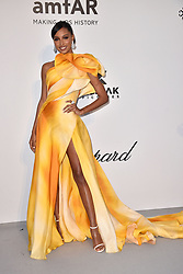 Jasmine Tookes attends the amfAR Cannes Gala 2019 at Hotel du Cap-Eden-Roc on May 23, 2019 in Cap d'Antibes, France. Photo by Lionel Hahn/ABACAPRESS.COM