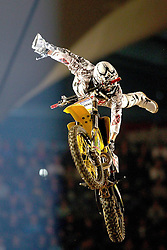 28.05.2011, Olympiahalle, Muenchen, GER, Suzuki Nigth of the Jumps , im Bild  Fabian Bauersachs (GER, Rödenthal/Franken)  , EXPA Pictures © 2011, PhotoCredit: EXPA/ nph/  Straubmeier       ****** out of GER / SWE / CRO  / BEL ******