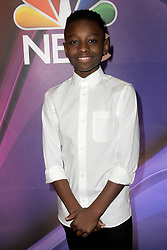 March 8, 2018 - New York, NY, USA - March 8, 2018  New York City..Miles Caton attending arrivals for the 2018 NBC NY Midseason Press Junket at Four Seasons Hotel on March 8, 2018 in New York City. (Credit Image: © Kristin Callahan/Ace Pictures via ZUMA Press)