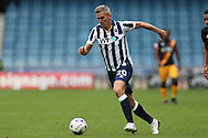 Steve Morison of Millwall in action. EFL Skybet football league one match, Millwall v Bradford city at The Den in London on Saturday 3rd September 2016.<br /> pic by John Patrick Fletcher, Andrew Orchard sports photography.