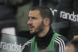March 8, 2019 - Turin, Piedmont, Italy - Leonardo Bonucci (Juventus FC) before the Serie A football match between Juventus FC and Udinese Calcio at Allianz Stadium on March 08, 2019 in Turin, Italy..Juventus won 4-1 over Udinese. (Credit Image: © Massimiliano Ferraro/NurPhoto via ZUMA Press)