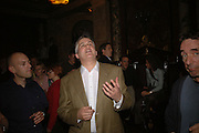 COLIN DANCER, Viewing of 'Petit Mal'  by Paul Fryer. The Grecian Temple. Great Eastern Hotel. 40 Liverpool St. London. EC2M 7QN. ONE TIME USE ONLY - DO NOT ARCHIVE  © Copyright Photograph by Dafydd Jones 66 Stockwell Park Rd. London SW9 0DA Tel 020 7733 0108 www.dafjones.com