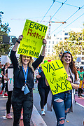 San Francisco, USA. 20th September, 2019. Student Strike for Climate march, one of many global climate strikes on this day around the world. Credit: Shelly Rivoli