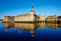 France, Finistčre (29), Concarneau, la ville close // France, Briitany, Finistere, Concarneau, Historic walled town of Concarneau