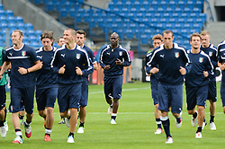 12.06.2012, Staedtisches Stadion, Posen, POL, UEFA EURO 2012, Italien, Training, im Bild  W SRODKU MARIO BALOTELLI during the during EURO 2012 Trainingssession of Italy national team, at the SMunicipal Stadium in Poznan, Poland on 2012/06/13