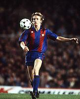 Fotball<br /> Barcelona Historie<br /> Foto: imago/Digitalsport<br /> NORWAY ONLY<br /> <br /> 16.09.1987  <br /> Bernd Schuster (Barca)