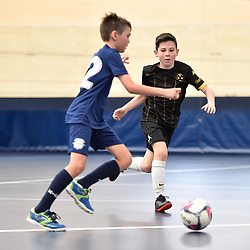 BRISBANE, AUSTRALIA - NOVEMBER 14:  during the QLD Futsal Junior Superliga match between Elitefoot u11 Black and u11 Gold Coast Force at Anna Meares Velodrome on November 14, 2020 in Brisbane, Australia. (Photo by Patrick Kearney)