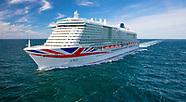 P&O Cruises - Iona naming day images 16/05/21