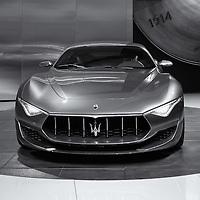 """""""Maserati Alfieri Front View"""" mono<br /> <br /> Front view of the beautiful Maserati Alfieri!"""