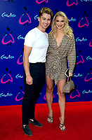 AJ Pritchard, Abbie Quinnen at the Gala Performance of Andrew Lloyd Webber's Cinderella  at the Gillian Lynne Theatre in Drury Lane, London, United Kingdom photo by terry Scott