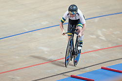March 2, 2019 - Pruszkow, Poland - Kaarle McCulloch of Australia competes in the Women's 500m time trial on day four of the UCI Track Cycling World Championships held in the BGZ BNP Paribas Velodrome Arena on March 02 2019 in Pruszkow, Poland. (Credit Image: © Foto Olimpik/NurPhoto via ZUMA Press)
