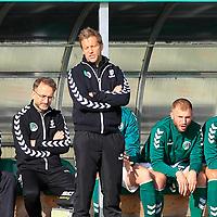 28.08.2019, Stadion Lohmühle, Luebeck, GER, Regionalliga Nord VFB Lübeck/Luebeck vs Hannover 96 II <br /> <br /> <br /> DFB REGULATIONS PROHIBIT ANY USE OF PHOTOGRAPHS AS IMAGE SEQUENCES AND/OR QUASI-VIDEO.<br /> <br /> im Bild / picture shows<br /> Trainer Rolf Martin Landerl (VfB Luebeck)<br /> <br /> Foto © nordphoto / Tauchnitz