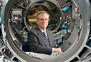 Frederick Robertson, chief executive officer, of TomoTherapy. (Photo © Andy Manis)